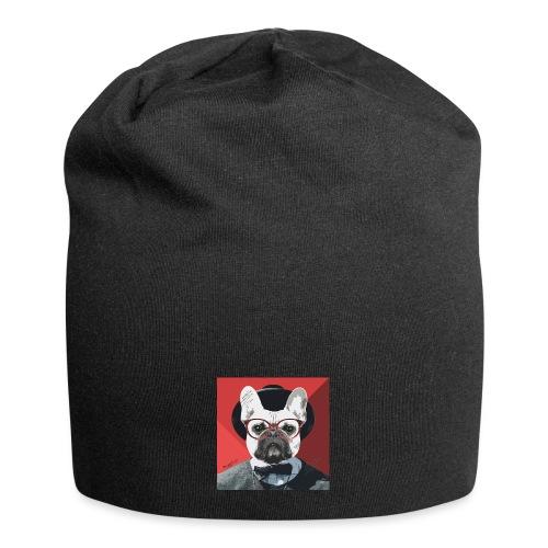 French Bulldog Artwork 2 - Jersey-Beanie