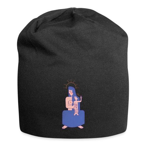 Vierge à l'enfant - Bonnet en jersey