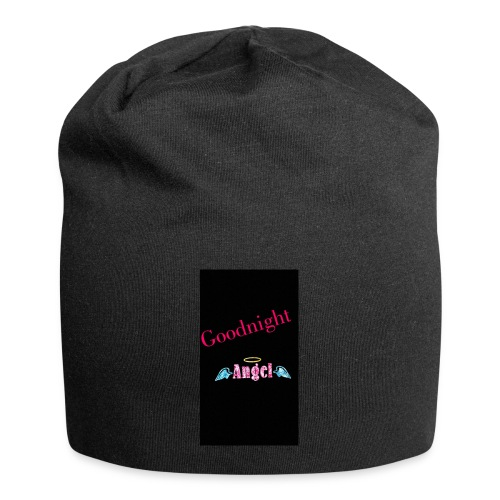 goodnight Angel Snapchat - Jersey Beanie