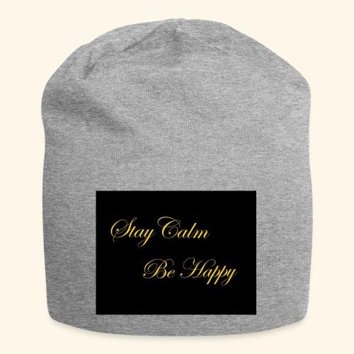 Be Happy - Bonnet en jersey