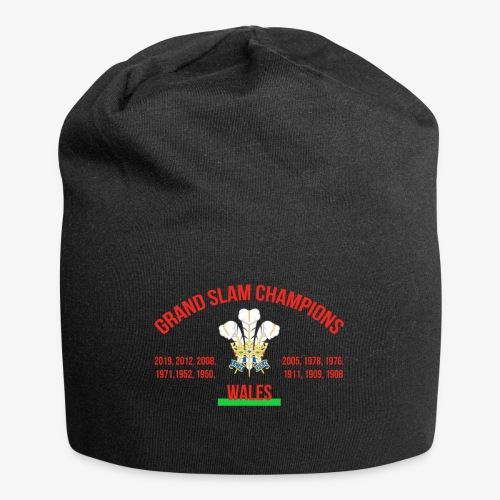 Wales Grand Slam - Jersey Beanie