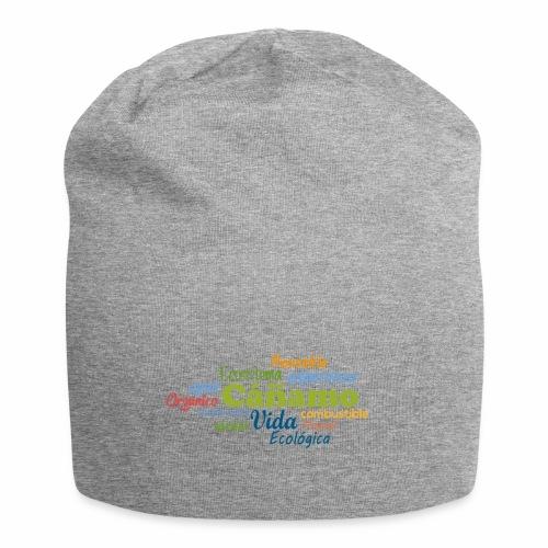 Cáñamo Sustentable - Gorro holgado de tela de jersey