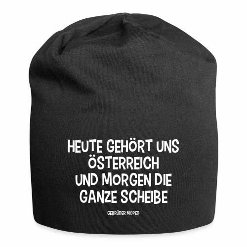 Scheibe Österreich - Jersey-Beanie