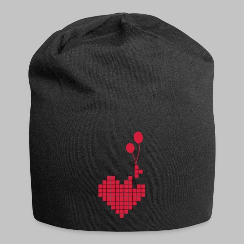 heart and balloons - Jersey Beanie