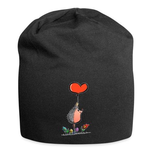 Hérisson avec une ballon pour les amoureux - Bonnet en jersey