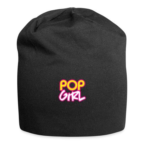 Pop Girl logo - Jersey Beanie