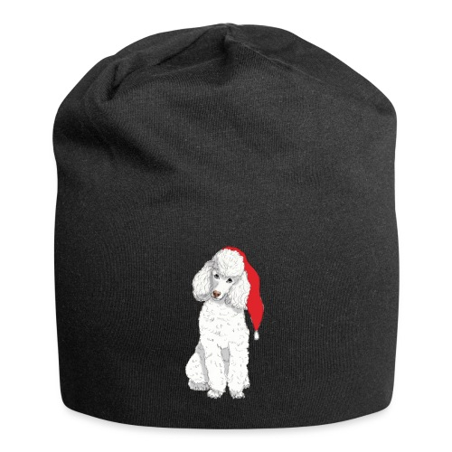 Poodle toy W - christmas - Jersey-Beanie