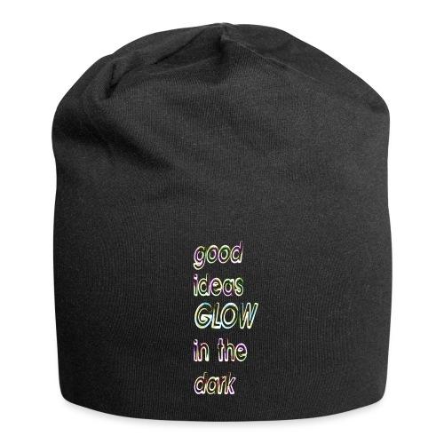 good ideas GLOW in the dark - Gorro holgado de tela de jersey