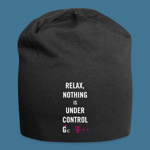 Relax weiss telekom - Jersey-Beanie