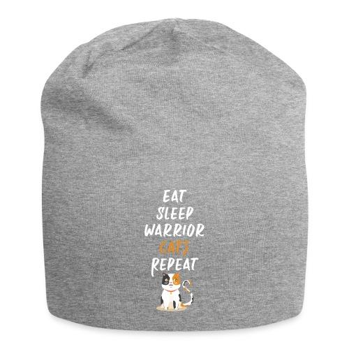 Eat sleep warrior cats repeat - Bonnet en jersey