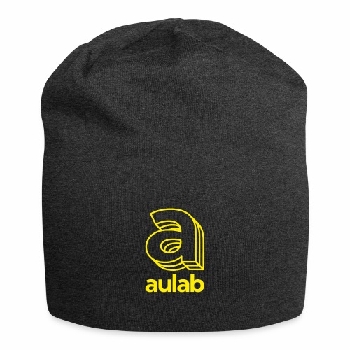 Marchio aulab giallo - Beanie in jersey