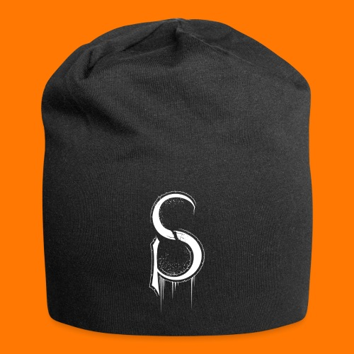 SCP-sign-WHITE transp - Jersey Beanie