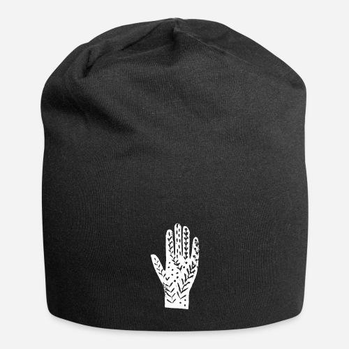 Hand – Händeabdruck T-Shirt – hands shirt - Jersey-Beanie