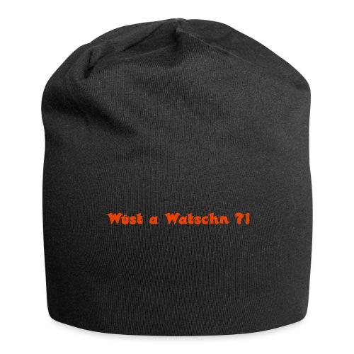 Wüst a Watschn?! - Jersey-Beanie