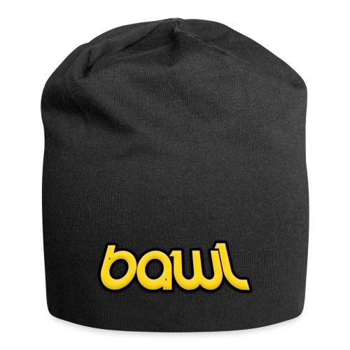 Bawl logo gul - Jersey-Beanie