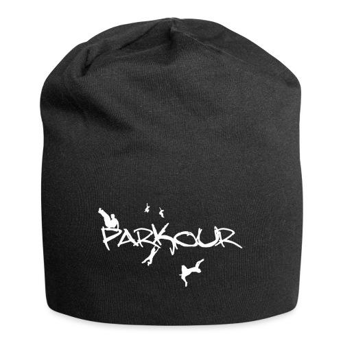 Parkour White Print - Jersey-Beanie