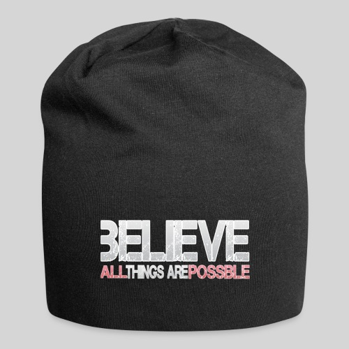 Believe all tings are possible - Jersey-Beanie