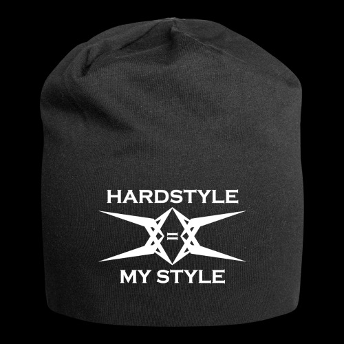 Hardstyle = My Style - Logo White - Jersey-Beanie