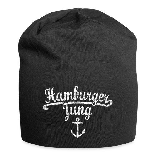 Hamburger Jung Klassik (Vintage Weiss) Hamburg - Jersey-Beanie