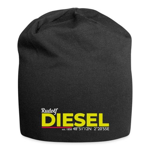 Rudolf Diesel geboren in Paris I Dieselholics - Jersey-Beanie