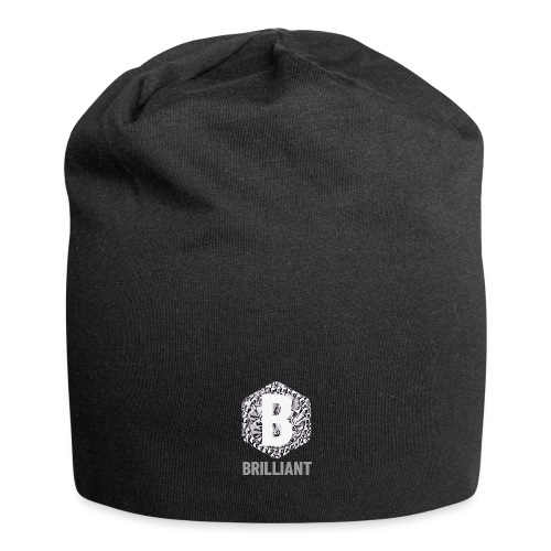B brilliant grey - Jersey-Beanie