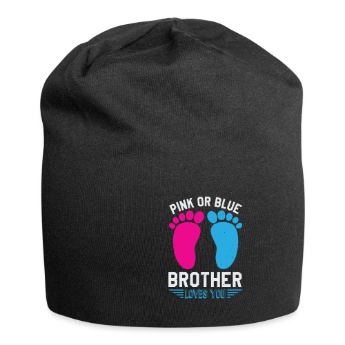 Pink or blue brother loves you - Jersey-Beanie