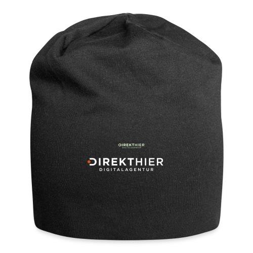 DIREKTHIER Logo - Jersey-Beanie