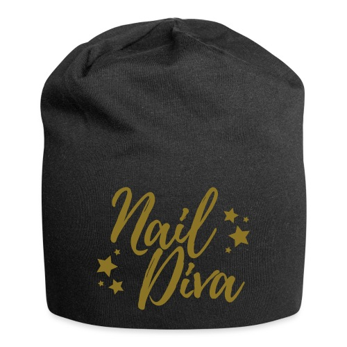 Nail Diva Vector Funny T-Shirt for the Nail Tech - Jersey-Beanie