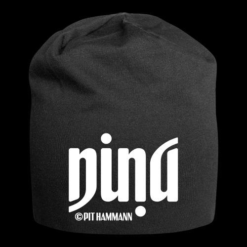 Ambigramm Nina 01 Pit Hammann - Jersey-Beanie