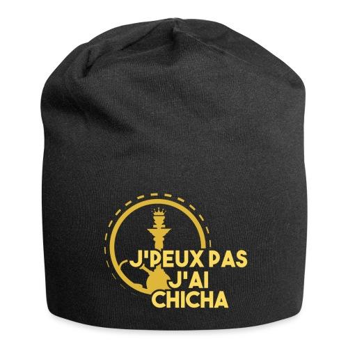 J'PEUX PAS J'AI CHICHA GOLD LOGO - Bonnet en jersey