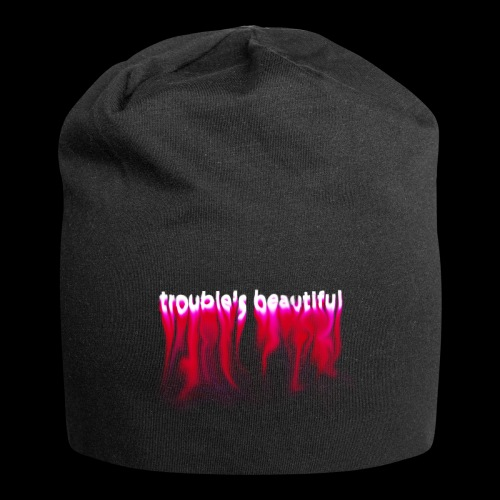 Trouble's Beautiful - Jersey Beanie