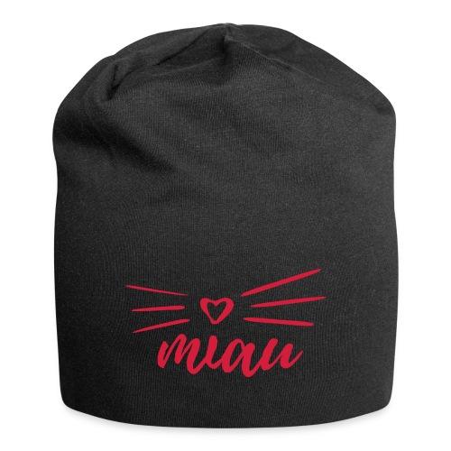 Vorschau: miau - Jersey-Beanie