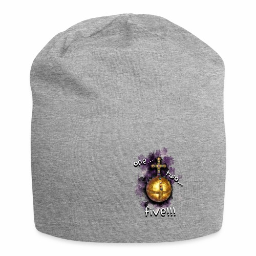 holy hand grenade of antioch - Gorro holgado de tela de jersey