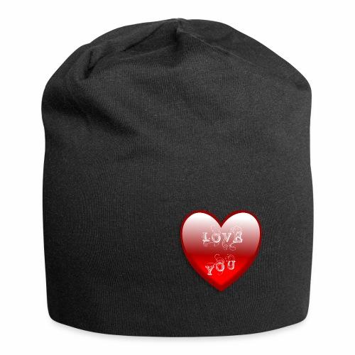Love You - Jersey-Beanie