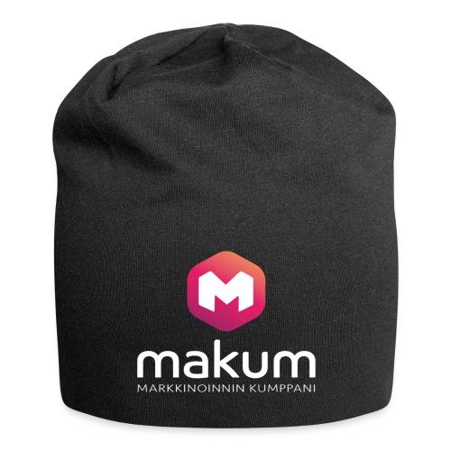 MAKUM Logo ja teksti - Jersey-pipo