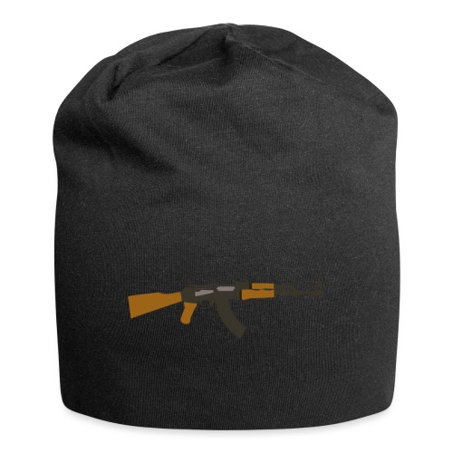 fire-cartoon-gun-bullet-arms-weapon-drawings-png - Jersey-Beanie