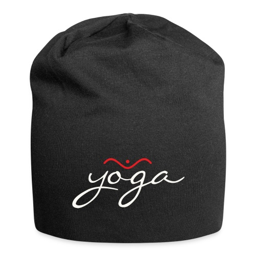 Yoga Balancing Typography And Emblem 2 - Jersey-Beanie