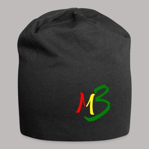 MB13 Logo rasta2 - Jersey Beanie