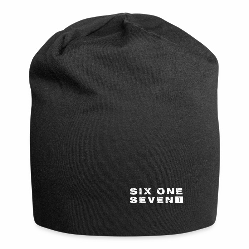 SIX ONE SEVEN 1 PROJECT LOGO FULL 1 WHITE - Jersey Beanie