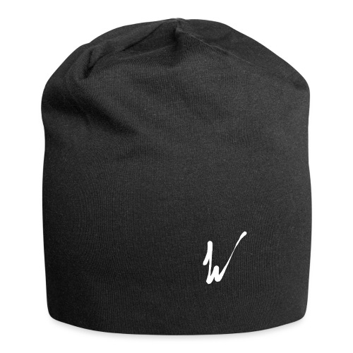 Walla White No circle - Jersey Beanie