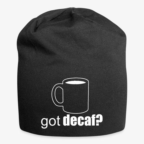 decaf - Jersey Beanie