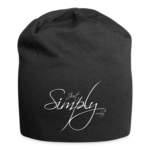 Just Simply Accessory White - Jersey-Beanie