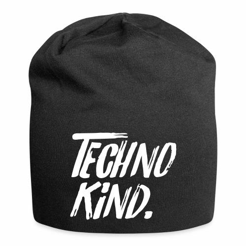 Techno Kind Raver Familie Afterhour Musik DJ Liebe - Jersey-Beanie