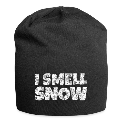 I Smell Snow Schnee, Weihnachten & Wintersport - Jersey-Beanie