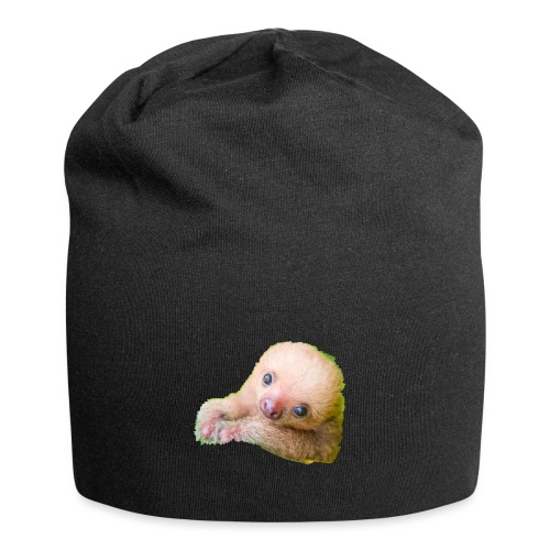 International sloth day sale - Jersey Beanie