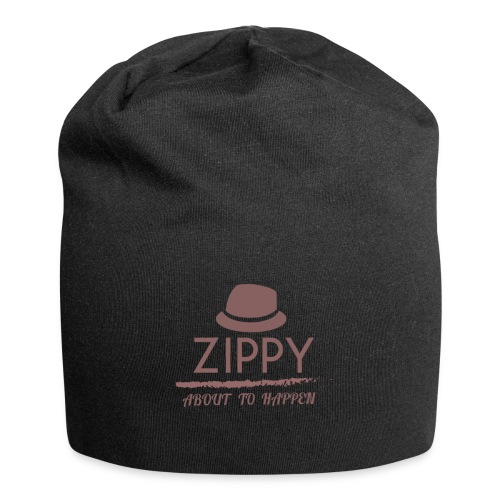 ZIPPY - Gorro holgado de tela de jersey