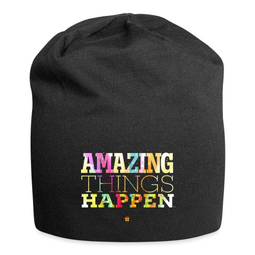 Amazing Things Happen - Simplified - Jersey Beanie