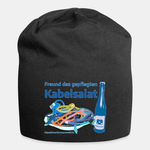 Freund des gepflegten Kabelsalat - Comic - Jersey-Beanie