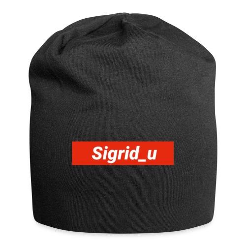 Sigrid_uBoxLogo - Jersey-beanie