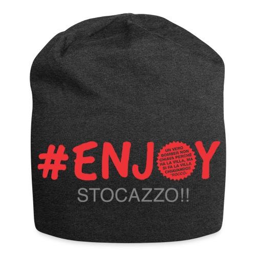EnjoyStoCazzo 3 - Beanie in jersey